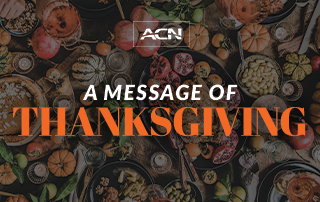 Let's Give Thanks, Today and Every Day